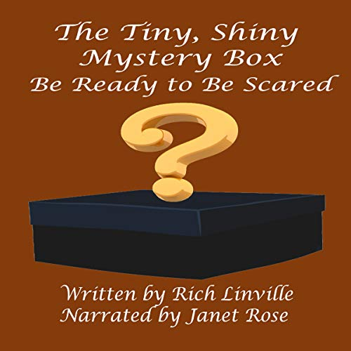 The Tiny, Shiny Mystery Box audiobook cover art