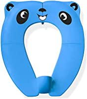 WeTest Portable Potty Seat with Splash Guard for Toddler,Foldable Travel Potty Seat with Carry Bag,Non-Slip Pads Toilet...