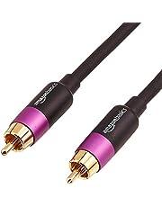 Amazon Basics-Cable para subwoofer (4,6 m)