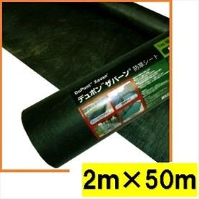 フィット打たれたトラック歌詞グリーンフィールド ザバーン防草シート136 スタンダードタイプ/厚さ0.4mm 2m×50m XA-136G2.0 グリーン