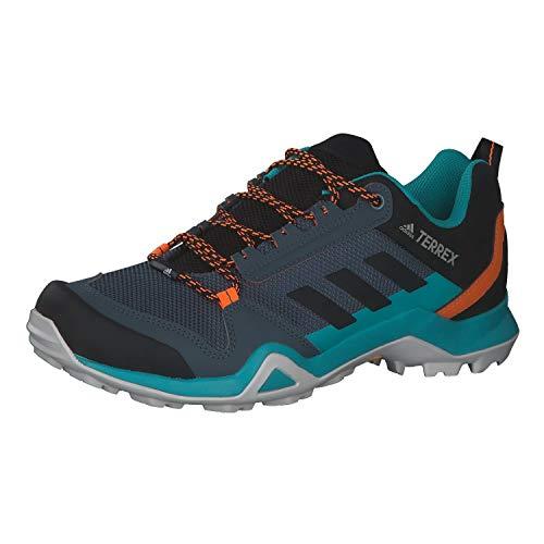 adidas Terrex AX3, Zapatillas de Hiking Hombre, AZULEG/NEGBÁS/NARSEN, 44 EU