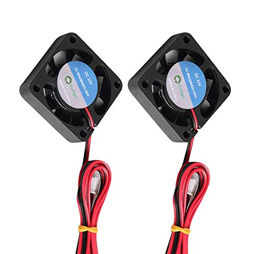 Furiga 4010 - Ventola di raffreddamento per stampante 3D, 12 V, 40 x 40 x 10 mm, 2 pezzi