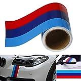 vitihipsy - Vinilo Adhesivo para Coche de Color M para BMW M3 M4 M5 M6 3 5 6 7 Serie