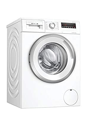 Bosch WAN28281GB Serie 4 Freestanding Washing Machine with AllergyPlus and SpeedPerfect, 8kg load, 1400rpm spin, White, Decibel rating: 52, EU Acoustic Class: A