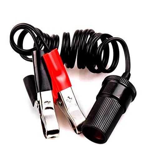 12 V 24 V sigarettenaansteker batterij clip in sigarettenaansteker adapter voor sigarettenaansteker 1 m lengte sigarettenaansteker verlengkabel