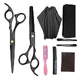 Haarschere Set, Parsion Premium Scharfe Friseurscheren, Haarschneideschere Licht Einseitiger...
