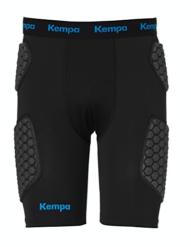 Kempa Herren Protection Shorts, schwarz, L