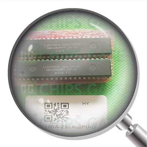 2 Stück LH0080A-Z80A-CPU-D Gehäuse: Dip-40, Z80 CPU Zentralprozessor.