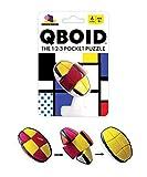 Brainwright QBoid The 1-2-3 Pocket Brain Teaser Puzzle, Multicolor, 5'