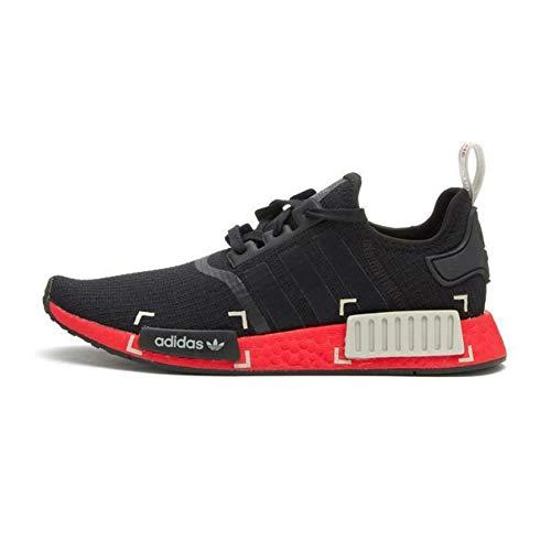 adidas Originals NMD_R1 - Zapatillas deportivas clásicas para mujer, con suela Boost, color negro, color Negro, talla 38 2/3 EU
