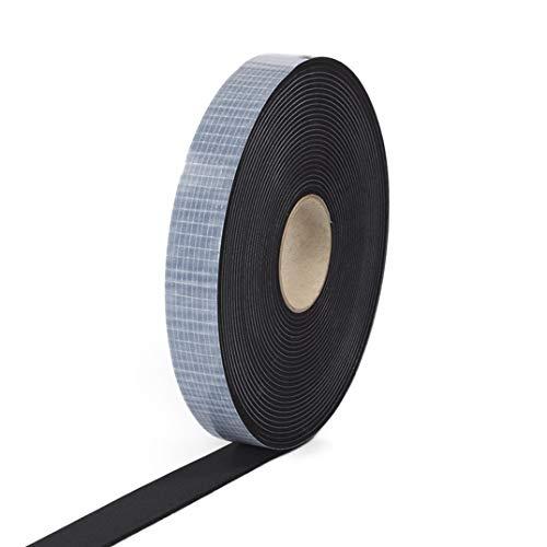 EPDM Zellkautschuk 10mmx2mm einseitig selbstklebend schwarz 10m Rolle