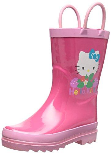 SANRIO Hello Kitty Girl's Pink Rain Boots (Toddler/Little Kid) (10 M US Toddler)