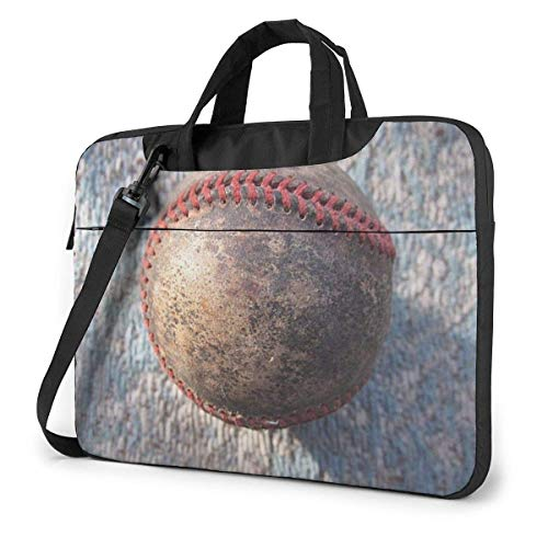 XCNGG Shockproof Laptop Bag Antique Baseball Computer Bag Durable Laptop Briefcase Cushion Protective Case Sleeve