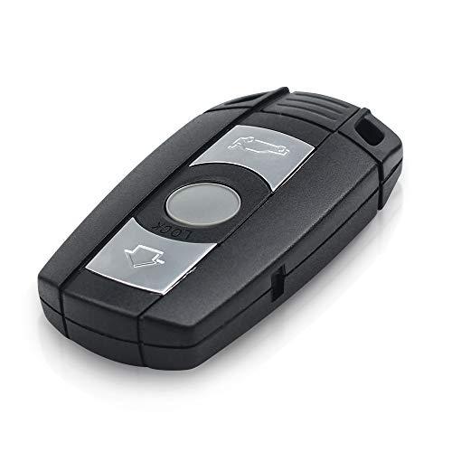 topone1 3 botones coche clave caso Fob remoto Smart Key Shell para BMW E60 E90 E92 E70 E71 E72 E82 E87 E88 E89 X5 para 1 3 5 6 series