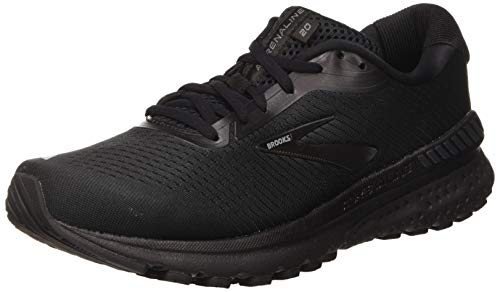 Brooks Men's Adrenaline Gts 20 Running Shoe, Black/Grey, 11 UK