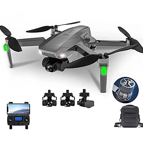 HAOJON Il Drone Pieghevole con Fotocamera 4k è Adatto per quadricottero con Telecomando per Adulti, Mantenimento dell'altitudine, modalità Senza Testa, decollo con Una Chiave, Adatto a Bambini o pr