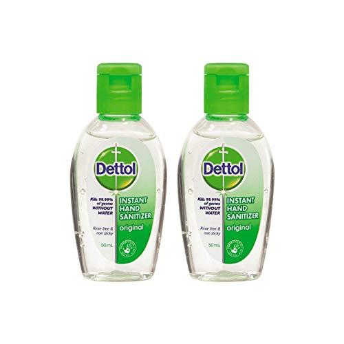 Dettol - Desinfectante, 50 ml, 2 unidades