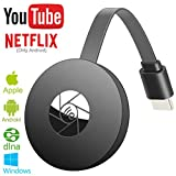 WiFi Display Dongle,Wireless Display Dongle-Wireless HDMI Adapter 1080P Portable TV Receiver Airplay Dongle Mirroring Screen from Phone to Big Screen,Support Miracast Airplay DLNA TV Stick