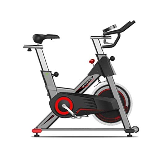 Spinning bike Cyclette Silenzioso Freno Display Forte portante in Feltro a LED può visualizzare Il Tempo e la Distanza ECC casa Esterna Palestra 1 Black Pack
