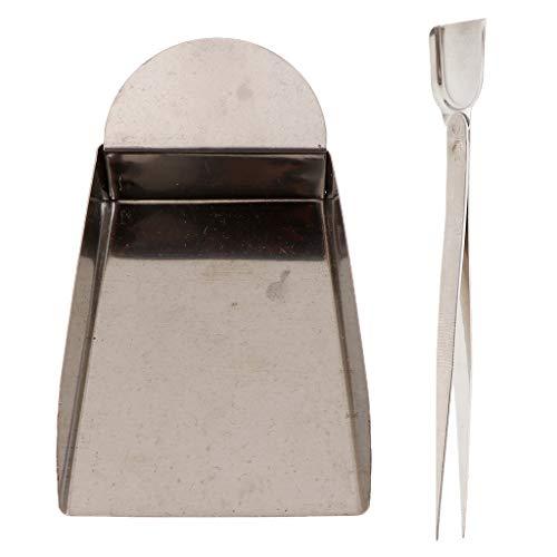 Sharplace - Pala de Diamante de Acero Inoxidable con brucelle de Diamante