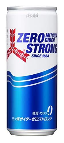 アサヒ飲料 三ツ矢サイダー ゼロストロング 250ml ×5缶
