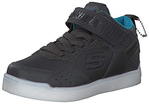 Skechers Kinder Energy Lights Sneaker grau 32