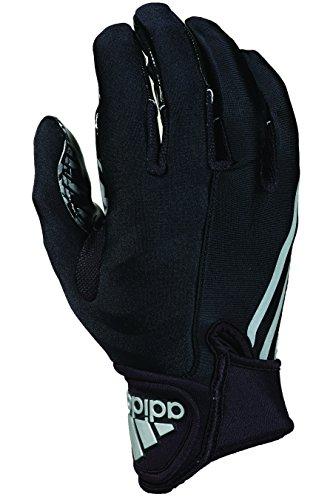 Adidas CRAZYQUICK 3.0Erwachsene gepolsterte des Fußball Handschuhe, schwarz / schwarz