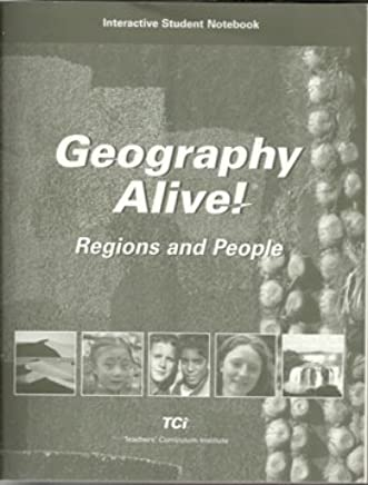 Geography Alive Regions And People Interactive Student