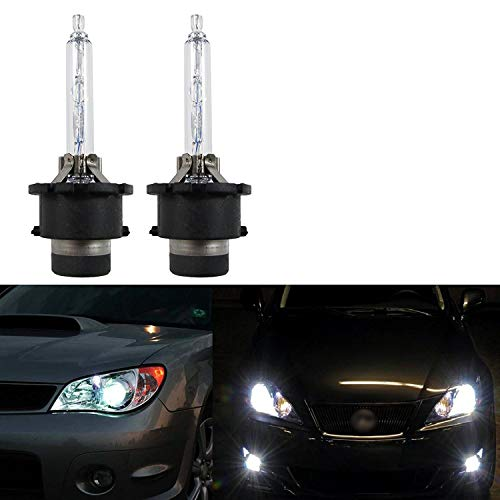 Xotic Tech D4S D4C D4R HID OEM Direct Replacement Headlight Xenon Beam Bulbs[6000K