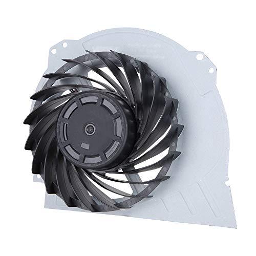 Kafuty Reparación de la Pieza de Repuesto del Ventilador de enfriamiento Interno para los Ventiladores de ABS de PS4 para PS4 Adopta Material Duradero diseño de Doble Ventilador