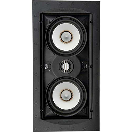 New SpeakerCraft ASM54633-2 Profile Aim LCR5 Three in-Wall Speaker w/Aimable Woofer
