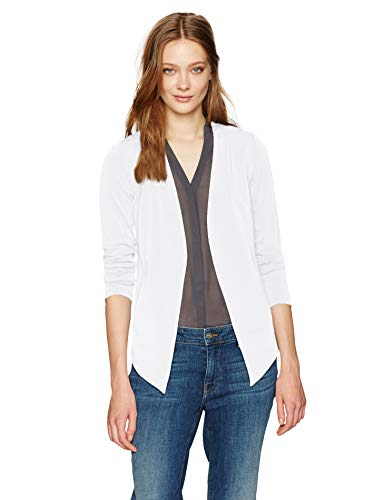 BCBGeneration Women's Tuxedo Blazer, Optic White, Medium