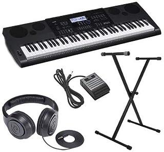 Casio WK-6600 Ultra-Premium Keyboard Package With Headphones