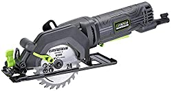 Genesis Compact Circular Saw with 24T Carbide-Tipped Blade
