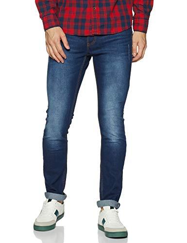 Amazon Brand - Symbol Men's Stretch Slim Fit Jeans (SY20-SL-26B_Dark...