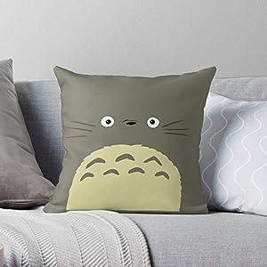 VIKTORSA Birthday Family Neighbor Ghibli My Living Room Studio Apartment Totoro Square Form Decorative Indoor Cotton…