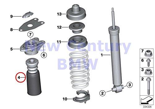 2 X BMW Genuine Rear Axle Suspension Rear Additional Shock Absorber 228i 228i 228iX M235iX 320i 328d 328i 335i 320i 328i 340i 428i 435i 328i 428i 435i