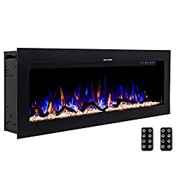 Best Wall Mounted Electric Fireplaces