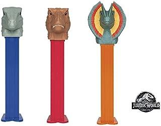 Pez Jurassic World Dinosaur Candy Dispensers (Pack of 12)