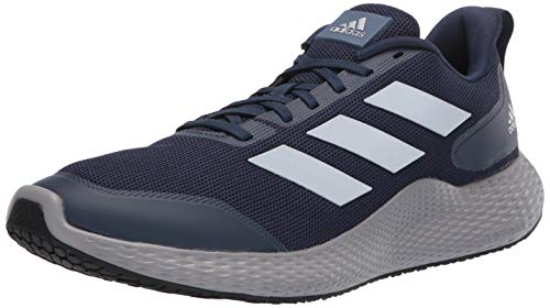 adidas Men's Edge Gameday Running Shoe, Collegiate Navy/Silver Met./Grey, 4 M US