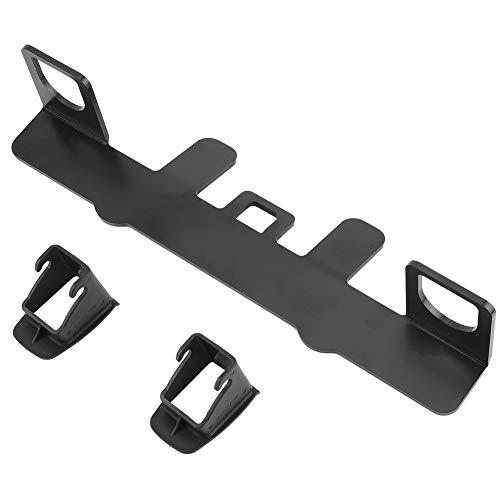 Duokon Base de montaje ISOFIX, pestillo de soporte de asiento infantil para coche con base de montaje ISOFIX de metal universal