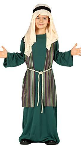 Guirca Traje San Jose-pastor verde 10-12 años, multicolor (42502)