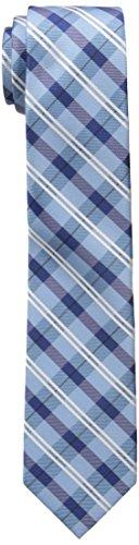 Dockers Big Boys Plaid Tie, Blue, OS