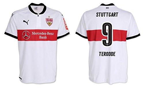 PUMA Trikot Herren VfB Stuttgart 2017-2018 Home - Terodde 9 (M)