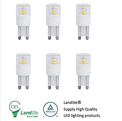 Landlite High Power LED G9 replacement bulbs