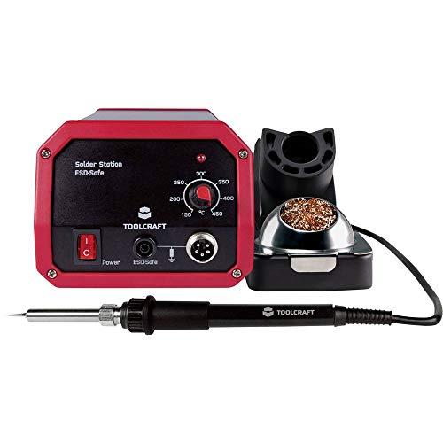 TOOLCRAFT ST-50A Lötstation analog 50 W 150 bis 450 °C inkl. Lötspitze