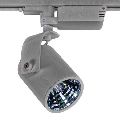 LampX LP17S Strahler für 3-Phasen-Stromschiene EVG 1x70 Watt HCI-T G12 30 Grad silbergrau