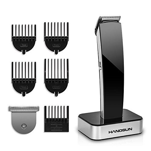 Hangsun Haarschneidemaschine HC360 Haarschneider Maschine Trimmer mit 2 Schneide und 5 Verstellbare KammaufsäTze füR Friseur Salon Oder Privaten Gebrauch
