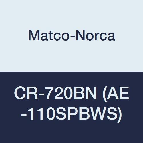 Why Choose Matco-Norca CR-720BN (AE-110SPBWS) Brushed Nickel Crescendo Series Shower Faucet, Only Si...