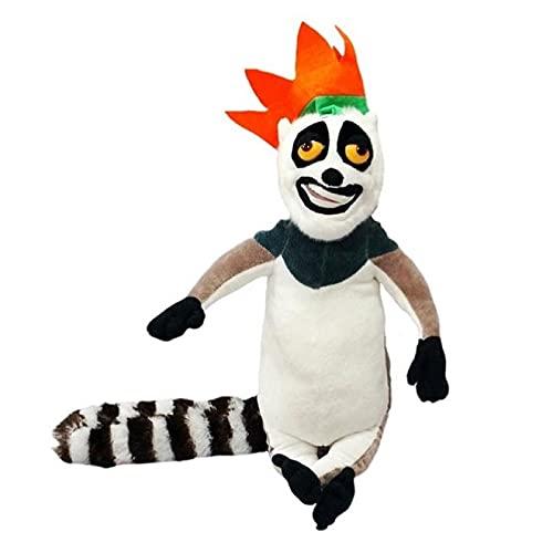 Peluches Juguetes De Peluche De Madagascar, Figura De Dibujos Animados De Madagascar, León, Jirafa, Pingüino, Cebra, Muñecos De Hipopótamo, Lindos Juguetes De Regalo para Niños